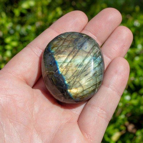 Small Labradorite Palmstone