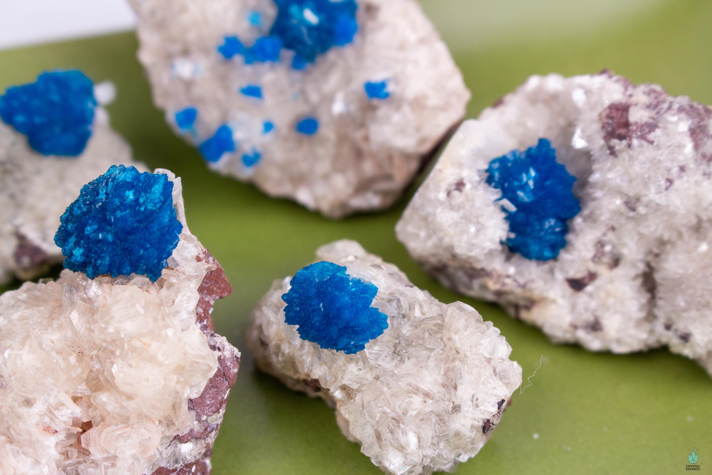 Cavansite Tumble RARE Cavansite Rare Cavansite Mineral Specimen