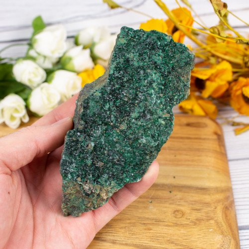 Crystallized Malachite #10