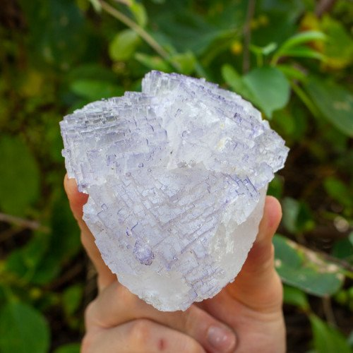 Purple and Clear Fluorite #3