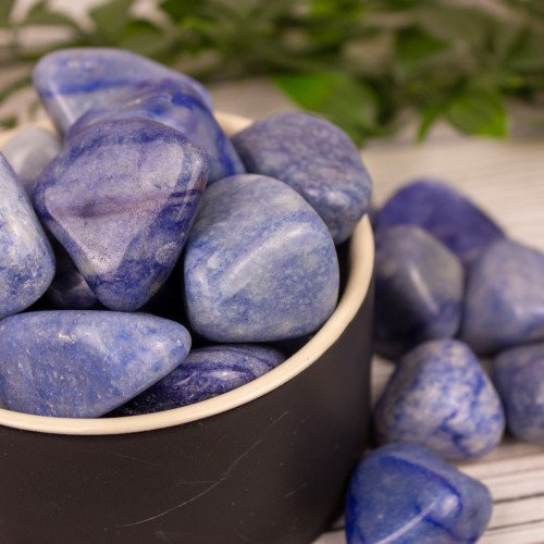 Dumortierite Tumbled