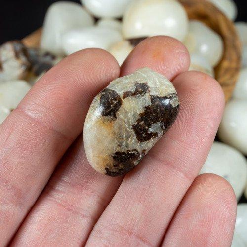 Tumbled Cryolite