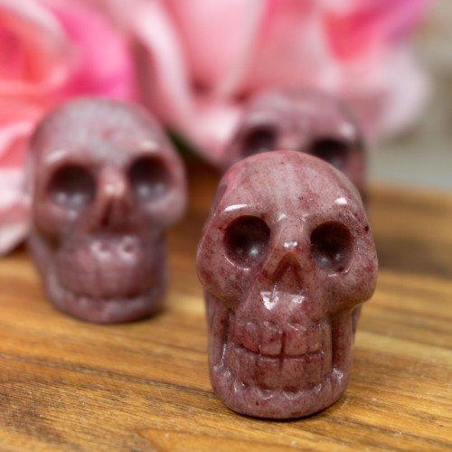Thulite Skull