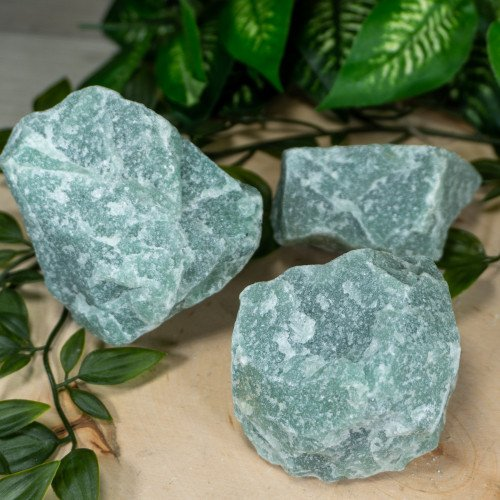Medium Raw Green Aventurine - Random