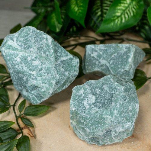 Medium Raw Green Aventurine - Random