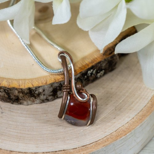 Small Red Jasper Wrap