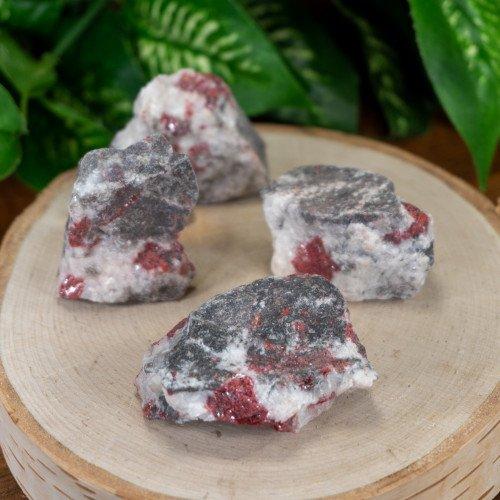 Raw Cinnabar with Dolomite (Toxic)