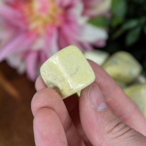 Yellow Jade Tumbled