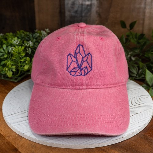 Crystal Council Pink Buckle Hat