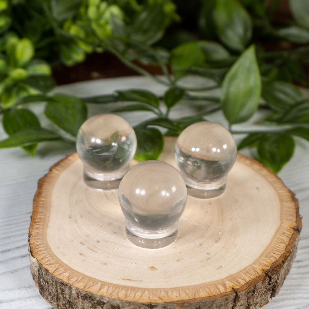 Mini Sri Lankan Hand-Polished Quartz Sphere