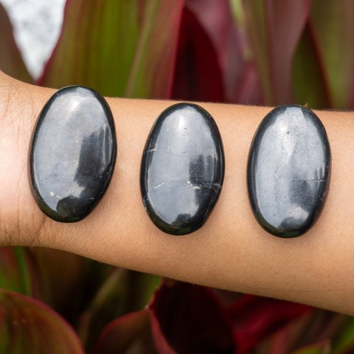 Small Shungite Palm Stone