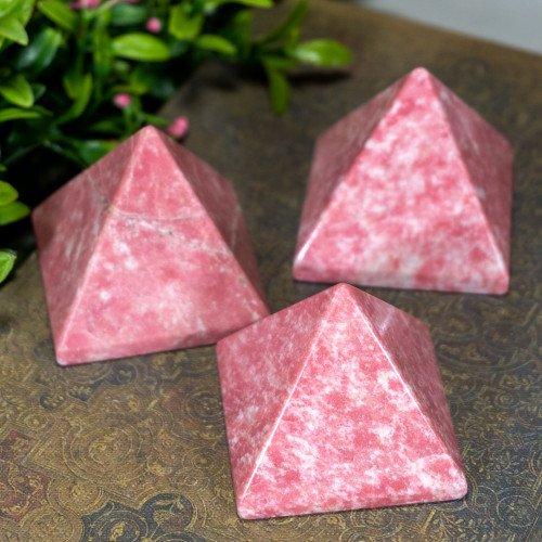 Large Thulite Pyramid