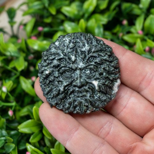 Preseli Bluestone Greenman Carving