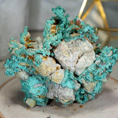 Raw Natural Oxidized Copper in Matrix #2