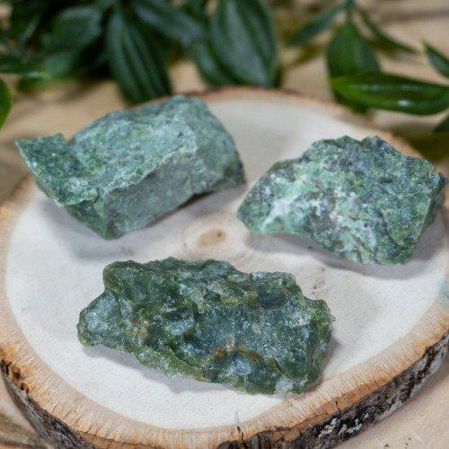 Small Raw Green Opal