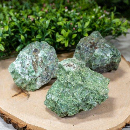 Medium Raw Green Opal