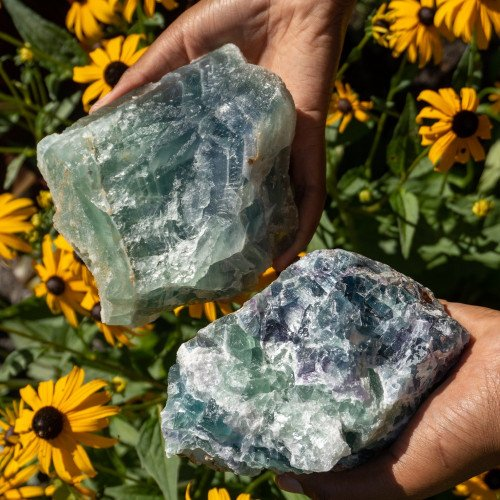 Large Raw Mexican Fluorite Random