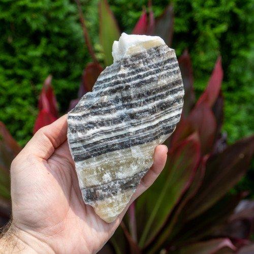 Raw Large Zebra Calcite