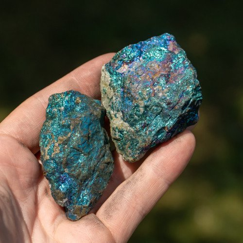 Small Raw Chalcopyrite Acid Washed