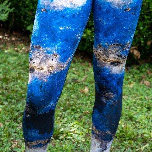 Lapis Lazuli Yoga Pants