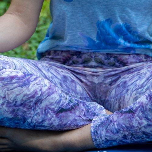 Charoite Yoga Pants