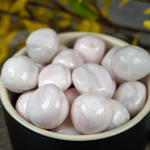 Tumbled Mangano Calcite