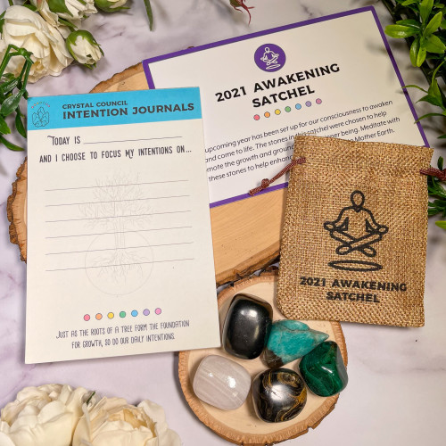 2021 Awakening Satchel with Free Intention Pad