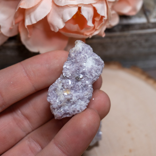 Small Raw Lepidolite