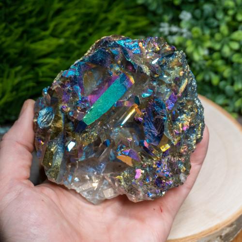 Titanium Quartz Cluster #1