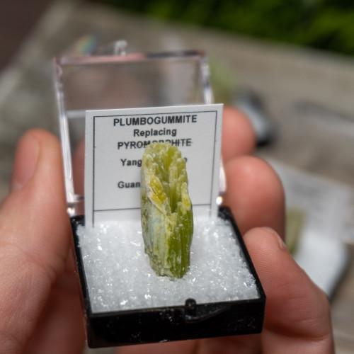 Plumbogummite Microspecimen