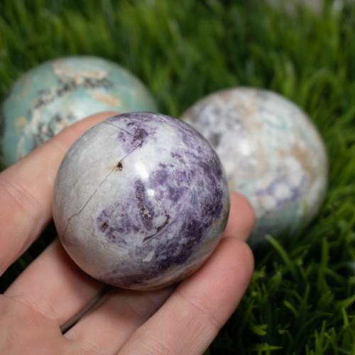 Small Bolivianite Sphere