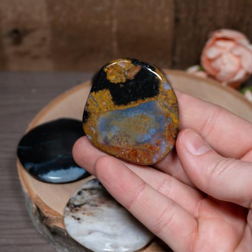 Sardonyx Palm Stone