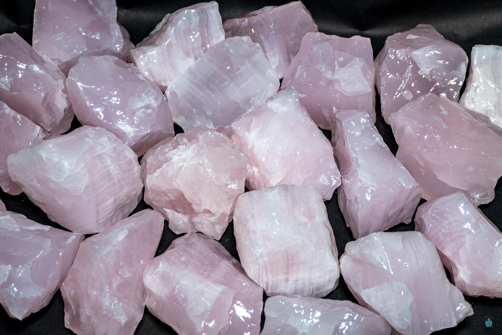 Beautiful Mangano Calcite Tumblestones Pink Calcite Loving Nurturing Crystals