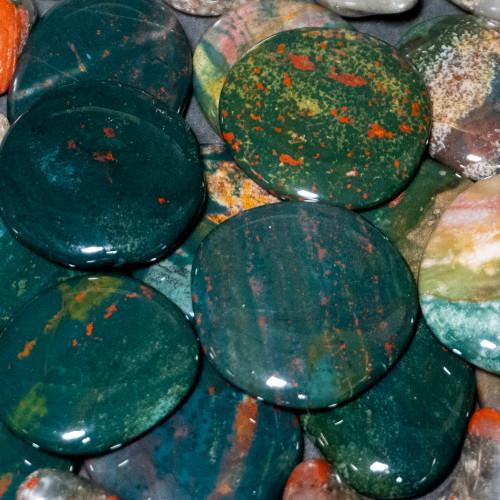 Small Bloodstone Palmstone