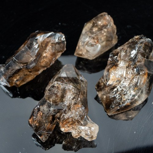 Small Raw Elestial Smoky Quartz