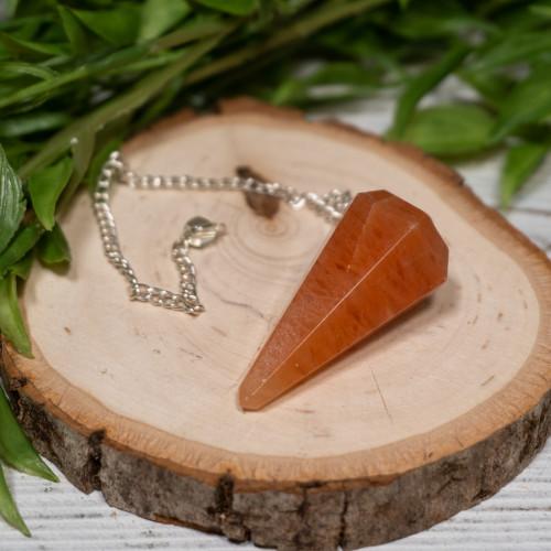 Orange Aventurine Pendulum