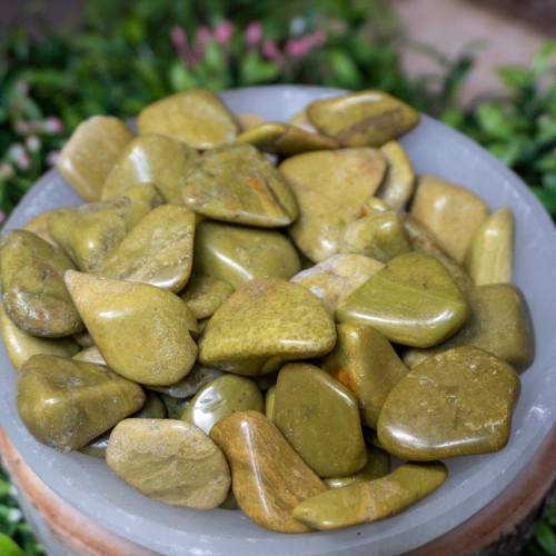 Green Opal Tumbled