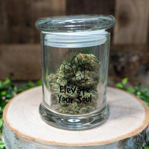Crystal Council Airtight Flower Jar