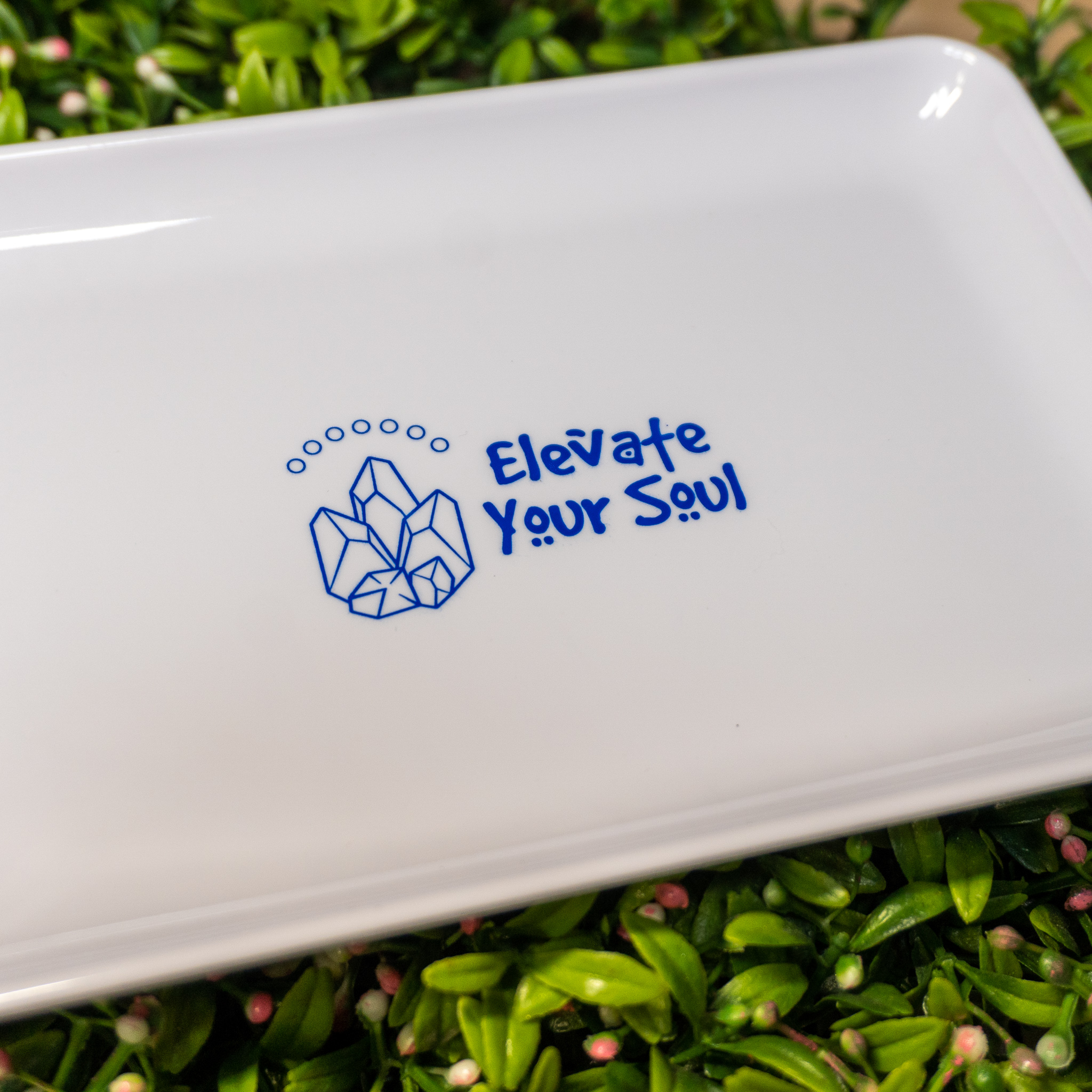 Crystal Council Rolling Tray