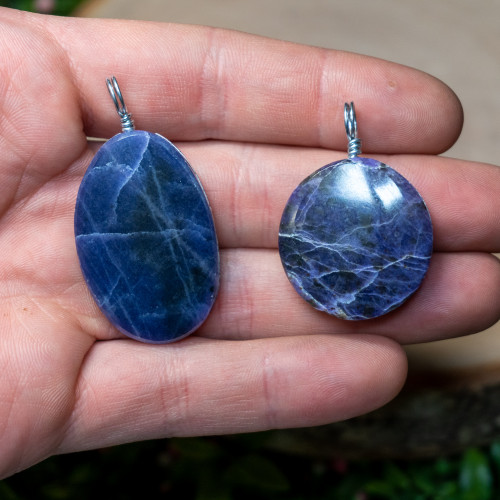 Purple Opal Necklace