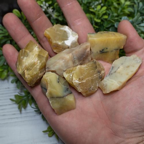 Small Raw Yellow Opal