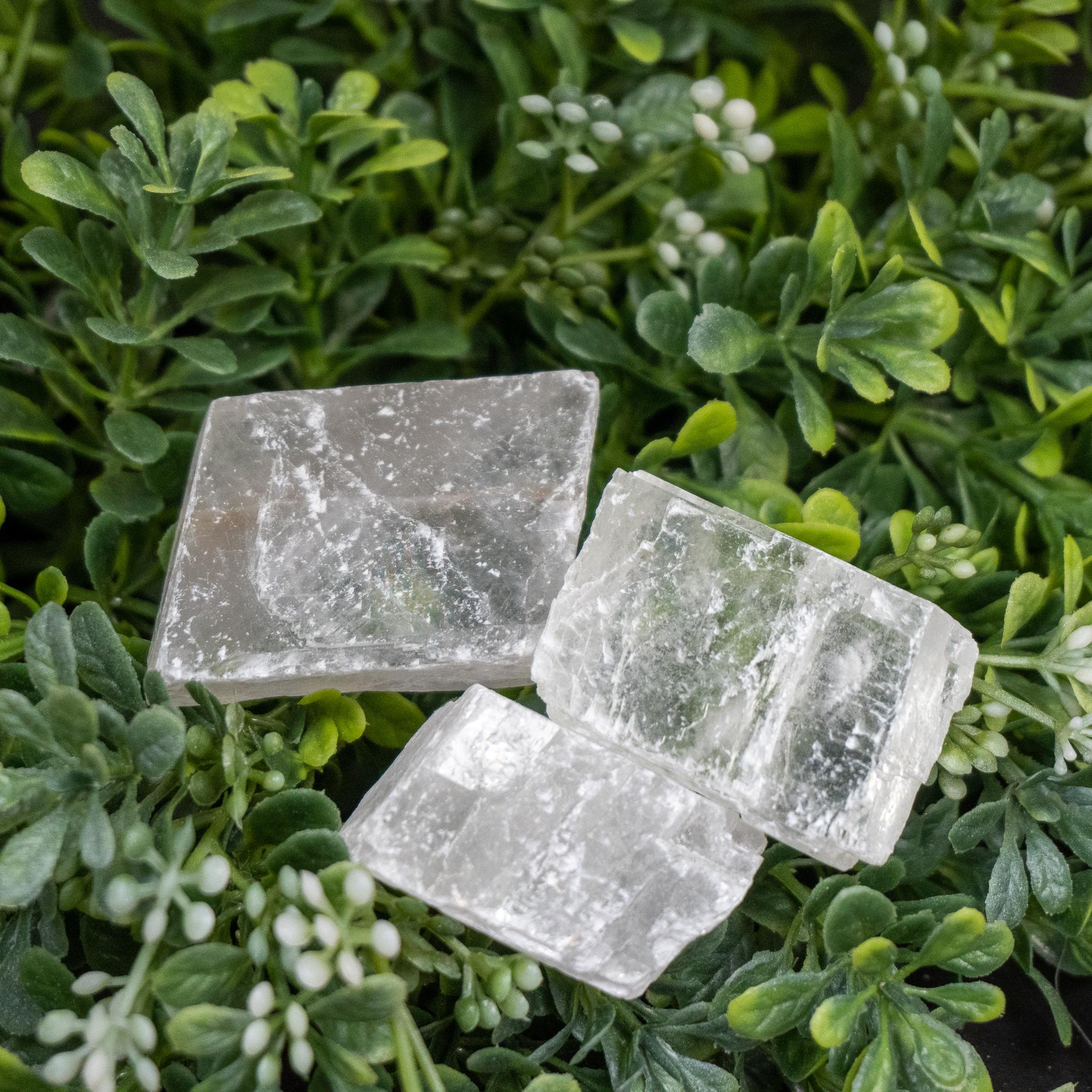 Small White Calcite