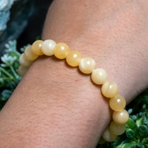 Orange Calcite Bracelet