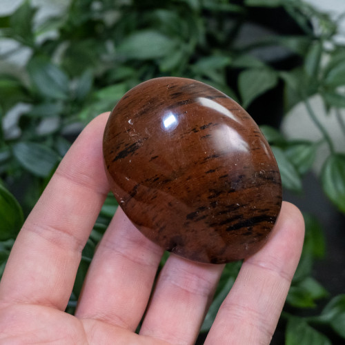 Mahogany Obsidian Palmstone