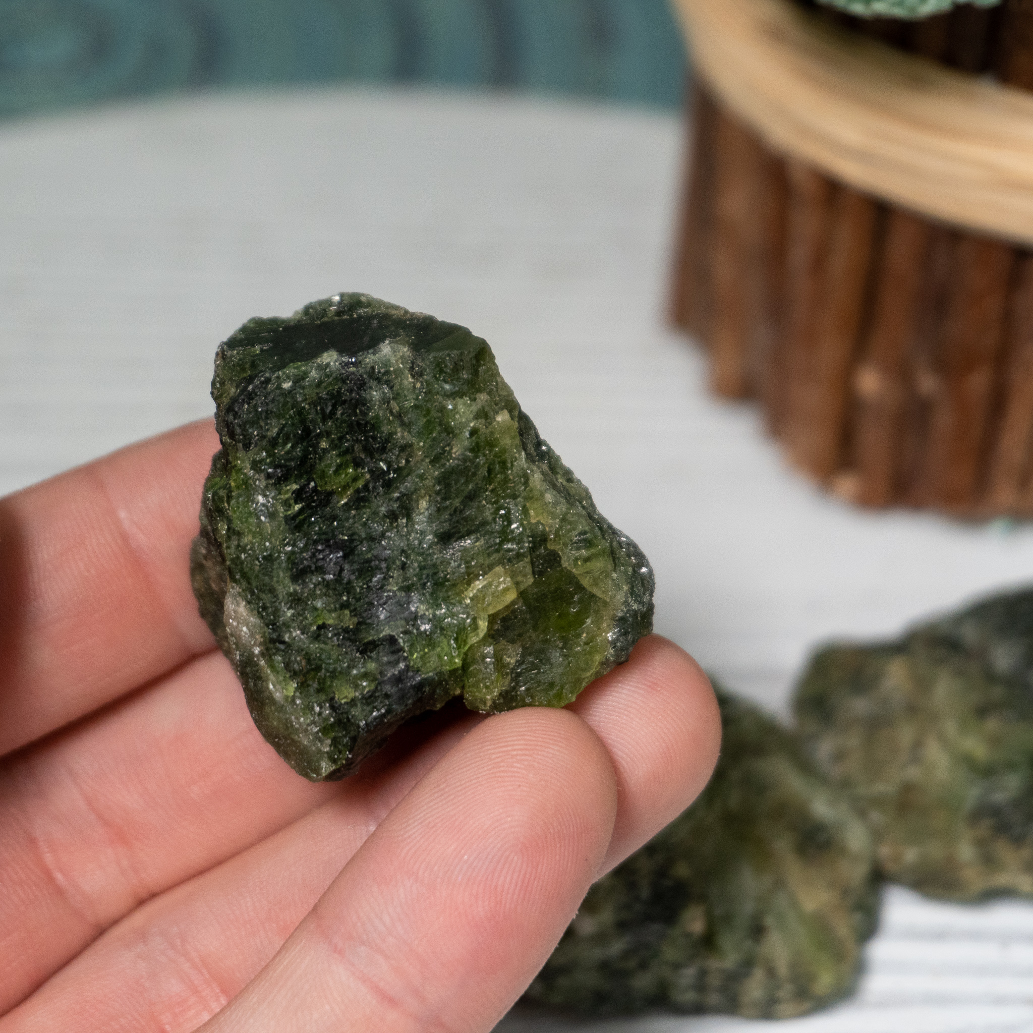 Raw Diopside