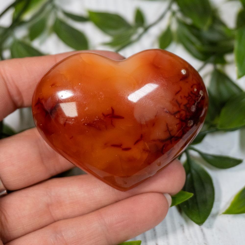 Medium Carnelian Heart