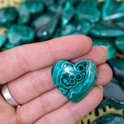 Small Malachite Heart