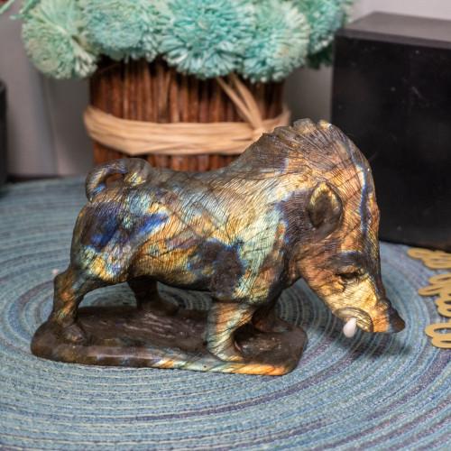 Labradorite Boar