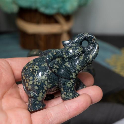 Kambaba Jasper Elephant