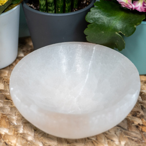 3 Inch Selenite Bowl